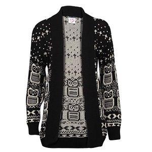 Sweaters - Owl Cardigan